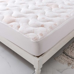 Copper Waterproof Mattress Pad