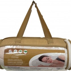 Copper Memory Foam Pillow Rolled