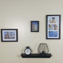 4 Piece Plastic Shelf & Frame Set