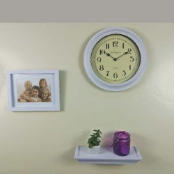 3 Piece Shelf, Frame & Clock
